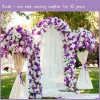 Ivory 10ft Wedding Voile Backdrop Ceiling Cover Kaiqi