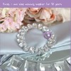 Circle Round Rhinestone Napkin Rings, Rhinestone Napkin Holder For Wedding Wholesale K8800