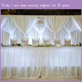 Kaiqi Wedding Chair Covers Chair Sashes Candle Holders