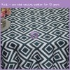 Paragon printed lamour satin tablecloth MY0018G
