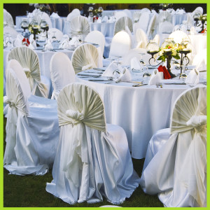 kaiqi wedding chair covers chair sashes candle holders charger