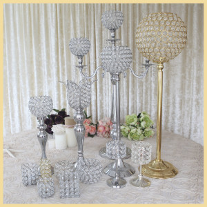 crystal candle holders Kaiqi