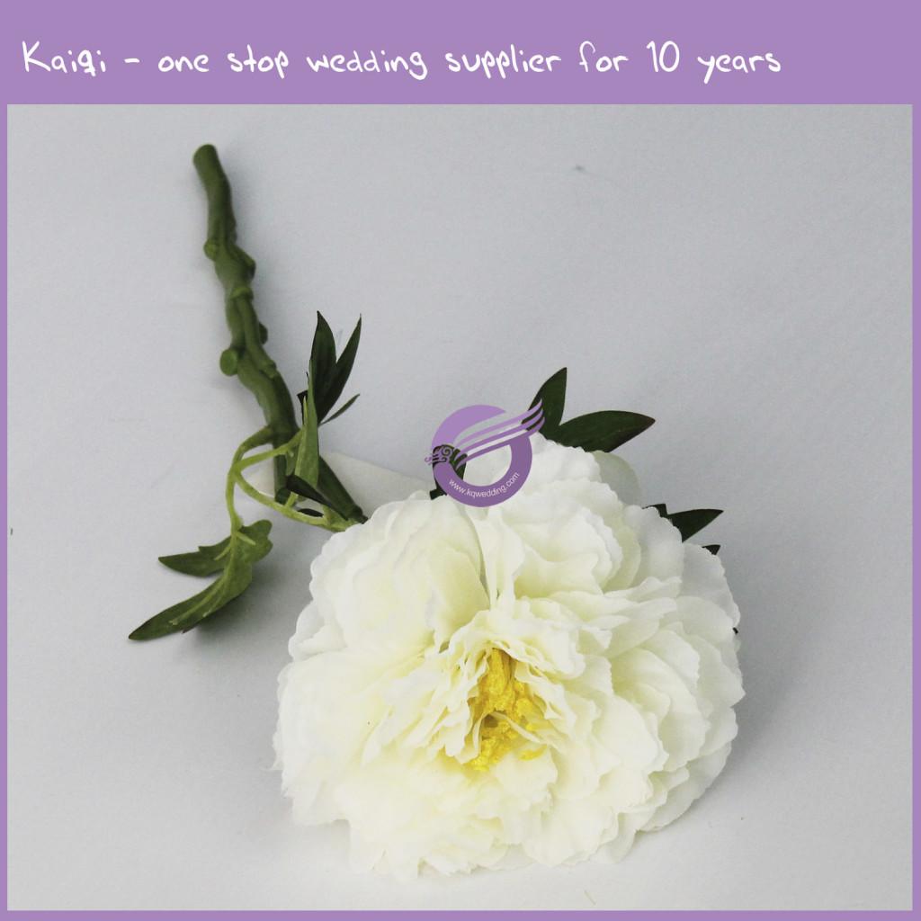 Ivory Beautiful Cheap Wholesale Peony 18294 Kaiqi Wedding